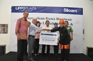 Kucurkan CSR Rp 400 Juta, Siloam Ditantang Walikota