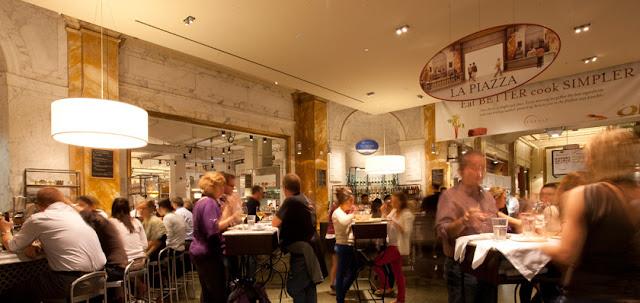 Complexo de restaurantes Eataly em Nova York