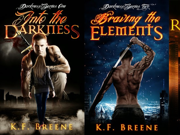 PROMOTION!!  The Darkness Series by KF Breene