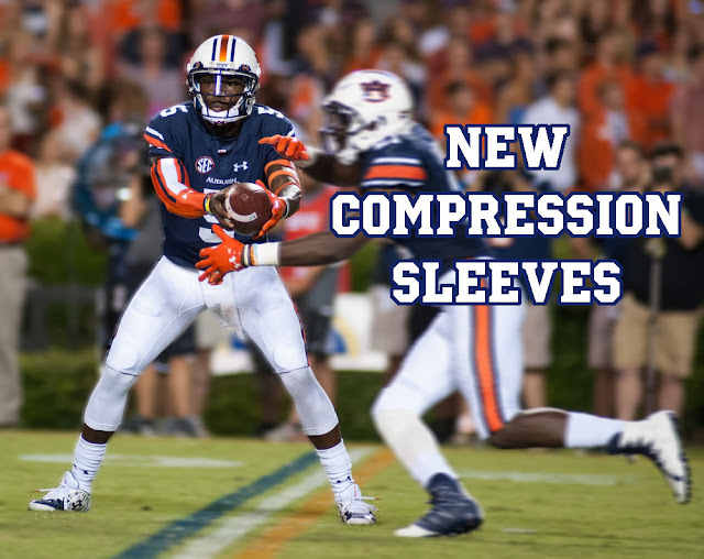 Auburn Football 2016 arm sleeves