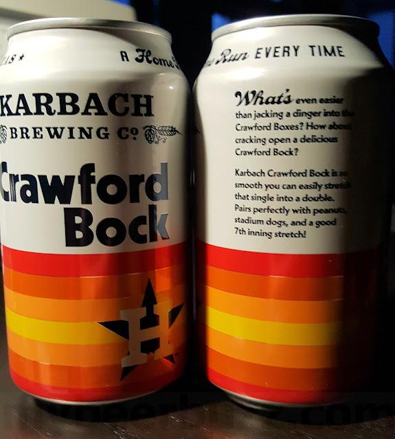 Mybeerbuzz .com Highlights Karbach Crawford Bock