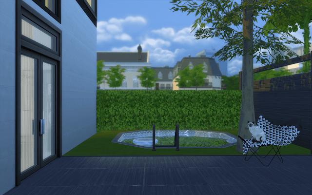 maison avec jardin sims 4