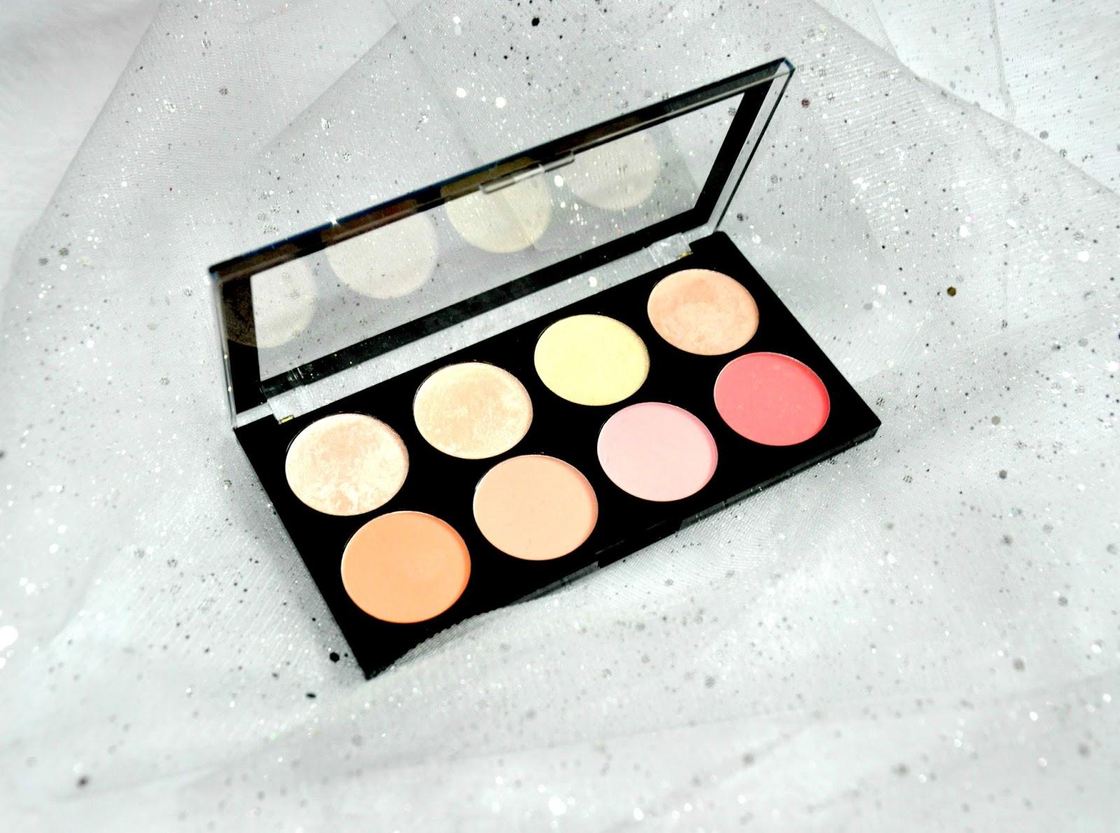 RÓŻOWO I BŁYSZCZĄCO - Makeup Revolution Blush Palette Blush Goddess