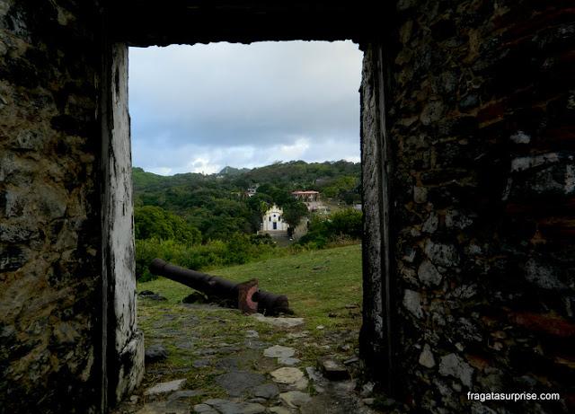 Entrada do Forte dos Remédios, Fernando de Noronha