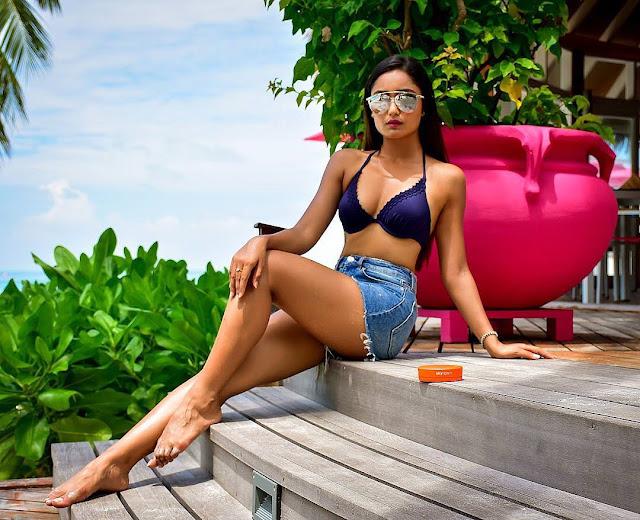 Tridha Choudhury Hot Bikini Pics From Instagram
