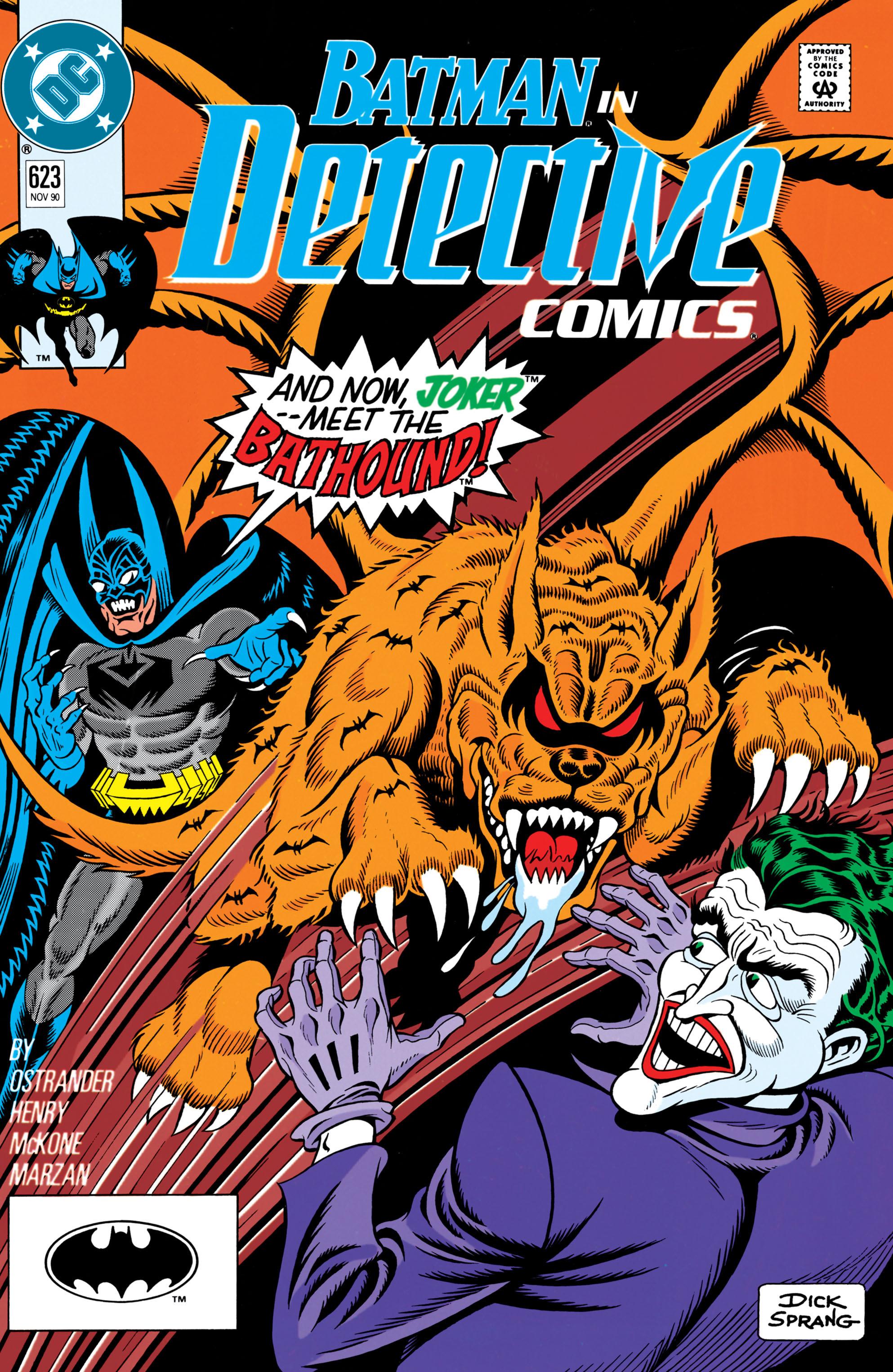 Detective Comics (1937) 623 Page 1