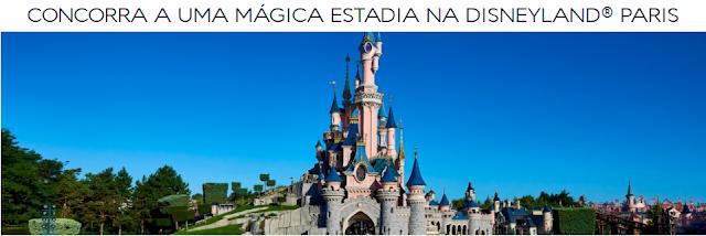 """Promoção """"Disneyland Paris & Air France"""""""
