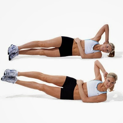 Elevação lateral das pernas