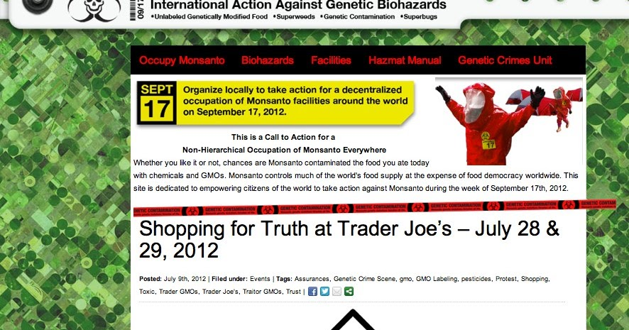 Trader Joe S Gmo Foods