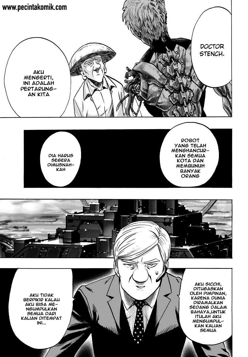 Komik One Punch Man Chapter 55 Bahasa Indonesia