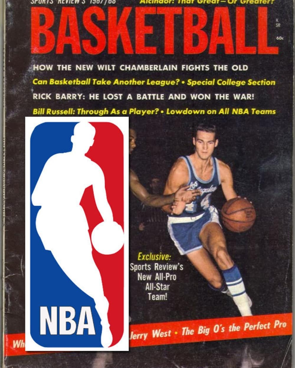 It's Always About Jerry West, But It's Not What Everyone Knows! The Story Behind the Photo That Inspired the NBA Logo!