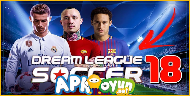 Dream League Soccer 2018 APK v5.03 - Oyuncu Hilesi