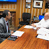 Meeting with Brockton Mayor - Bill Carpenter