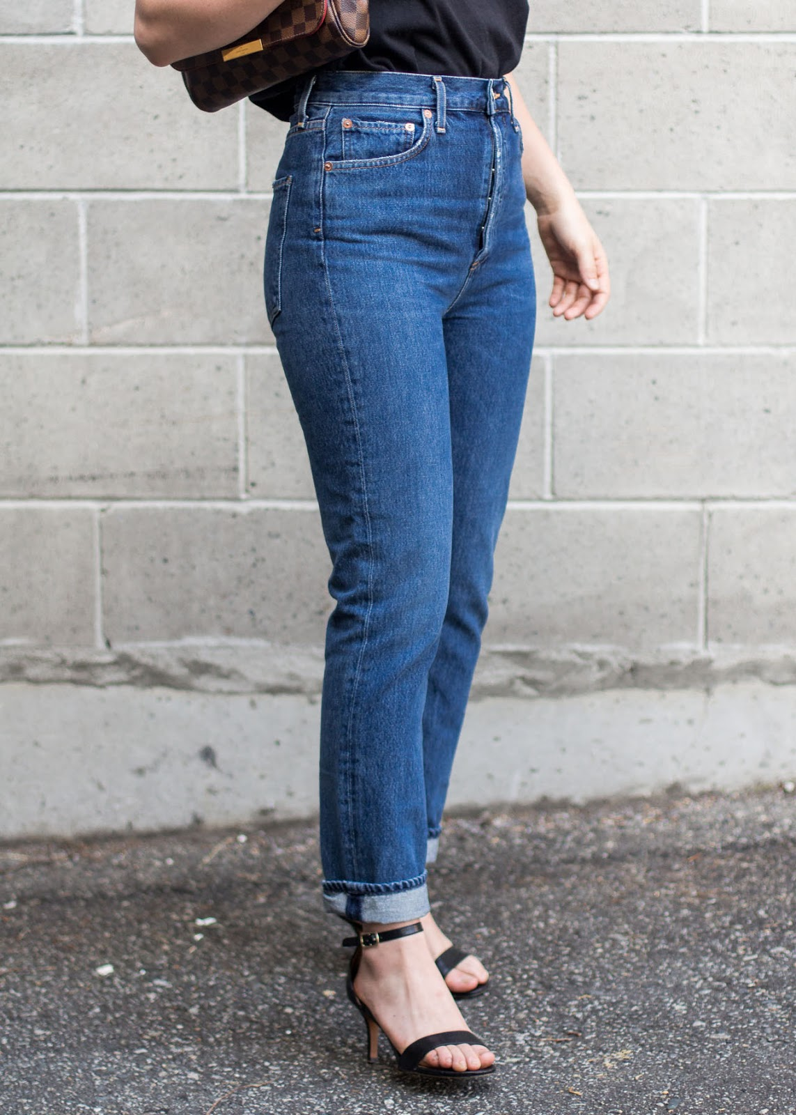 Favorite fashion purchases of the year - AGOLDE riley jeans