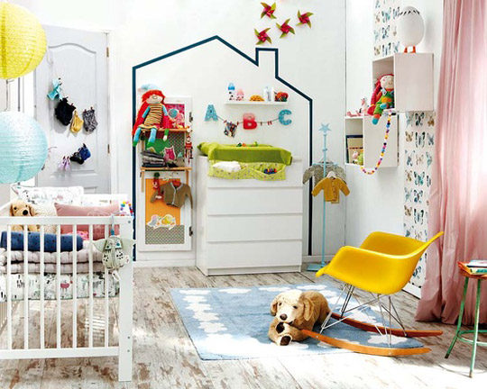 Ideas para decorar las paredes de un dormitorio infantil