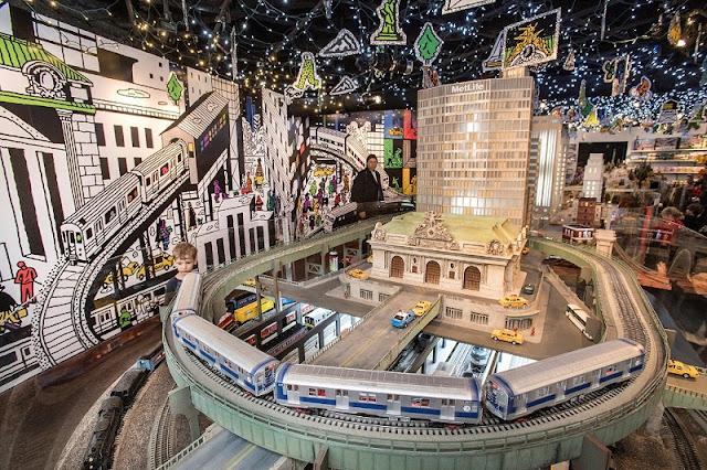 Museu do Trânsito de Nova York fora do museu
