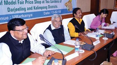 State food and supplies minister Jyotipriya Mallick