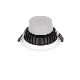 LED Premium Downlight Round ∅22.8x7.7CM Cut Out: ∅21CM 100-240V 120 Degree 5000K IP44 Epistar 2835 150 83RA 2550LM 0.9 85LM/W 30W White