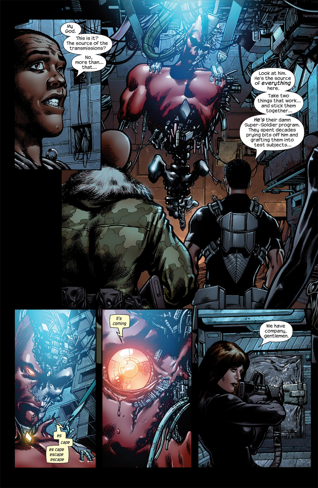 Read online Ultimate Nightmare comic -  Issue #5 - 9