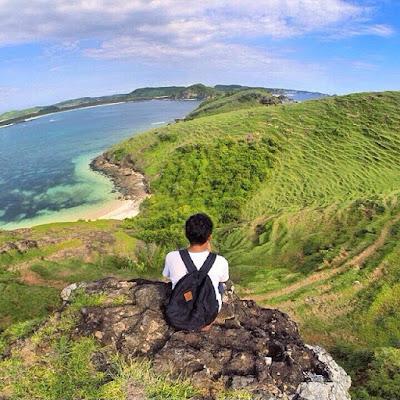 bukit merese, tempat wisata di lombok, bukit cinta lombok, bukit tanjung aan