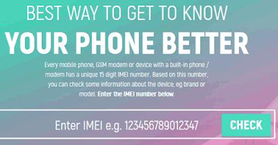 Scoprire informazioni su un telefono avendo l'IMEI