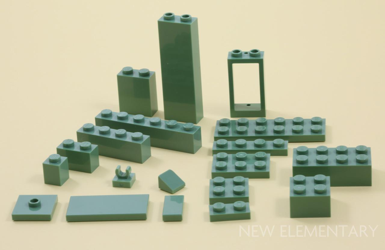 3003 pieces for building 60 New Lego 2x2 Tan Bricks Lot