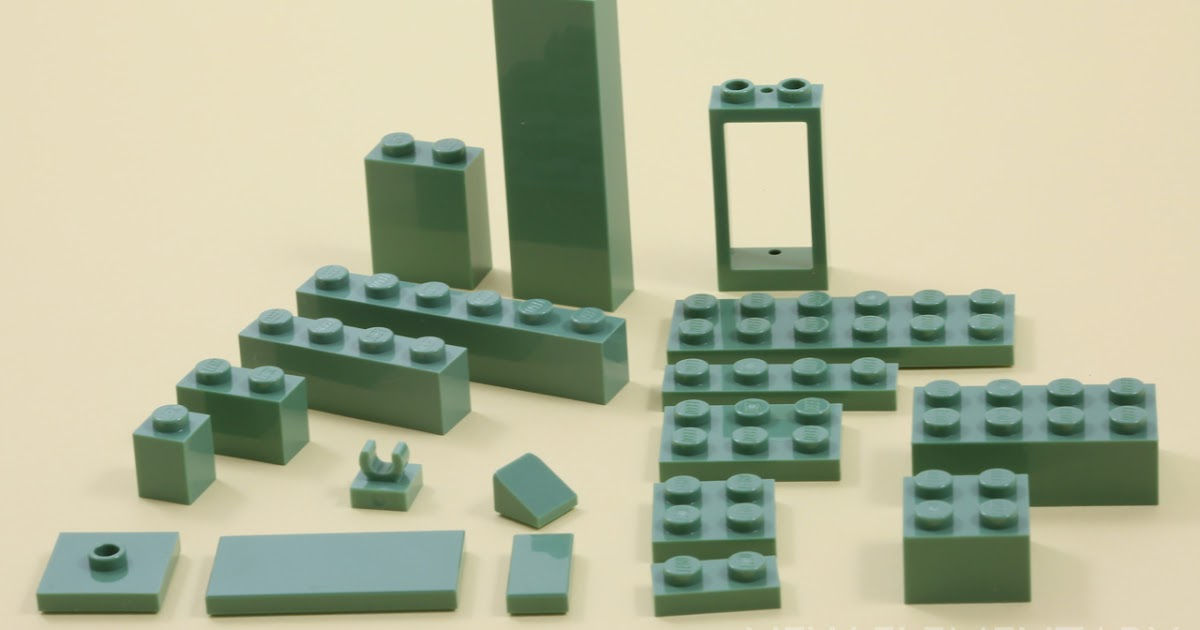 Lego 36 Pieces 1x4 Sand Green Plate 3710 Star Wars//Harry Potter//Space//System
