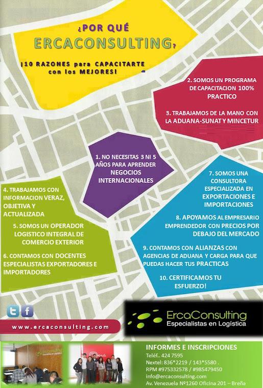 Erca Training School Tu Mejor Elecci N En Comercio Exterior Y Aduanas Programa De