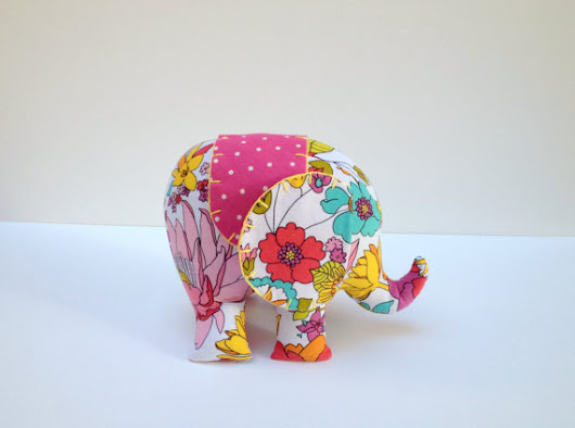 Ellie the Elephant Sewing Pattern