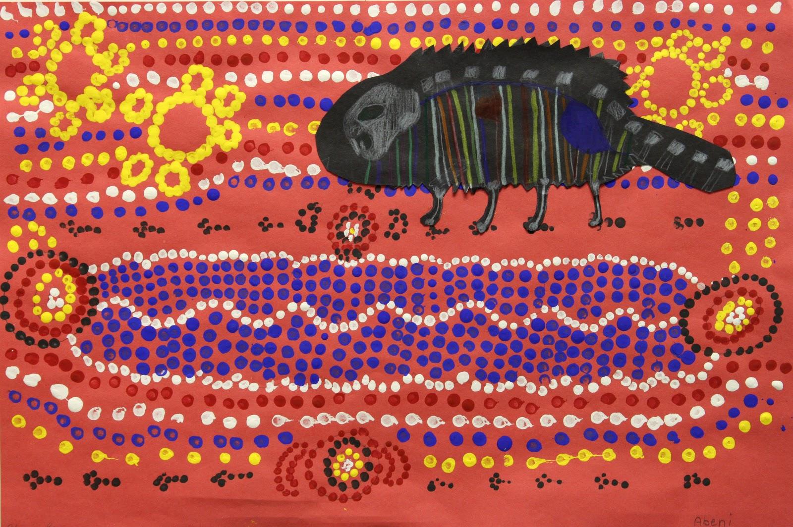 Across The Classrooms Aboriginal Art And Animal Adoption