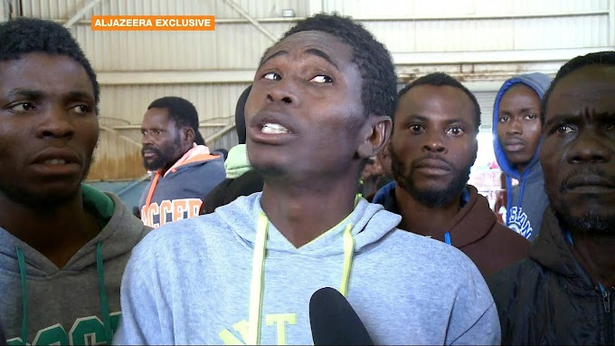 Nigerian migrants return from Libya back to square one