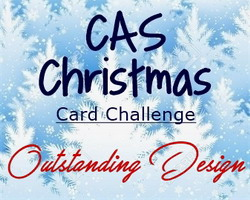 CAS Christmas Top Design