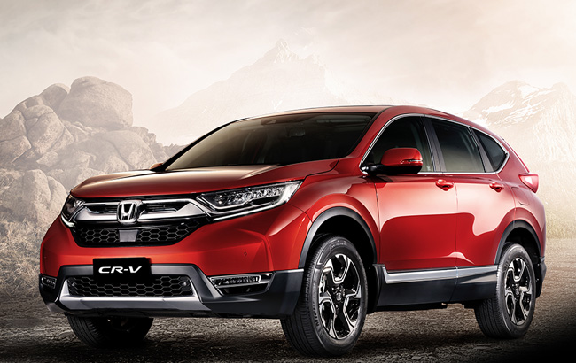 Honda launches its first 7 seater diesel suv the all new for Honda 7 seater suv