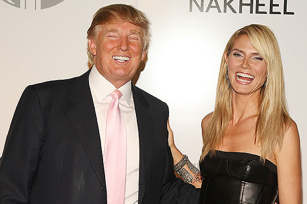 "Heidi Klum made fun of Donald Trump because of his words: ""It is already 10 points does not pull"""