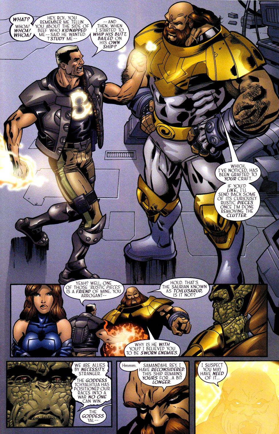 Read online Sigil (2000) comic -  Issue #14 - 22