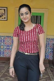 Actress Namitha Pramod Stills on talabbayi sets  0015.jpg