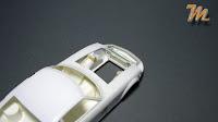 Nissan / Datsun 240Z Fairlady scale model engine bay