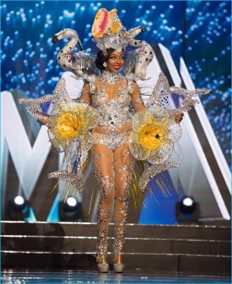 trajes tipicos miss universo 2017 bahamas
