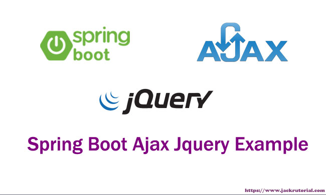 Spring Boot Ajax Jquery Example - Learning to Write code for