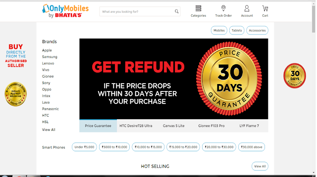 OnlyMobiles.com by Bhatia's launches Price Protection – a '30 Days Price Guarantee' scheme