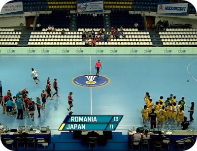 Romania 13 - Japonia 11