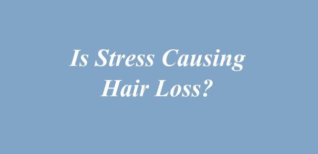 Stress Causing Hair Loss
