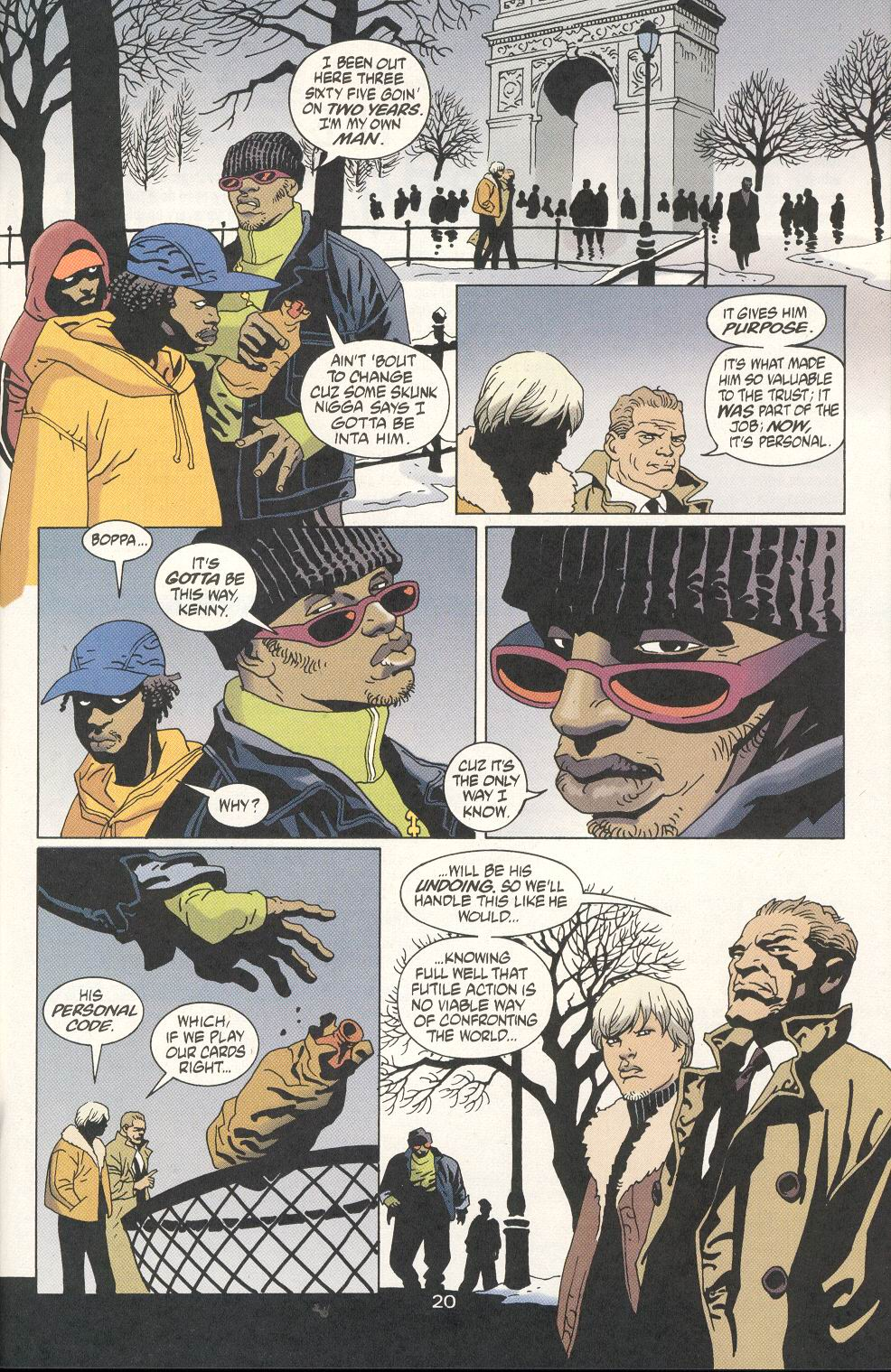 Read online 100 Bullets comic -  Issue #20 - 22
