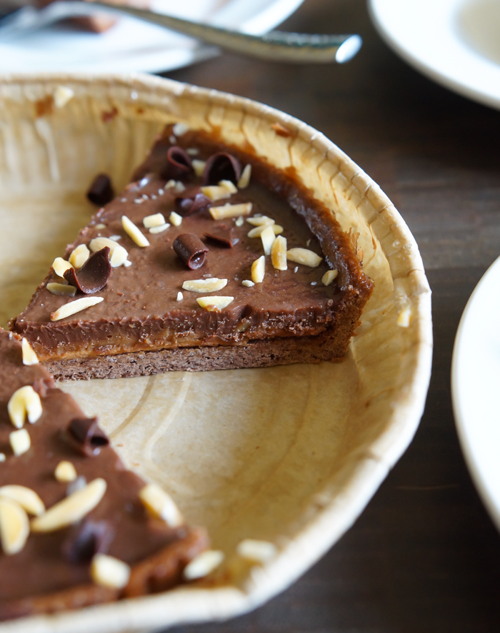 Trader Joe's Chocolate Almond Butter Tarte review