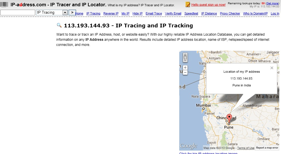 how to find out facebook user location