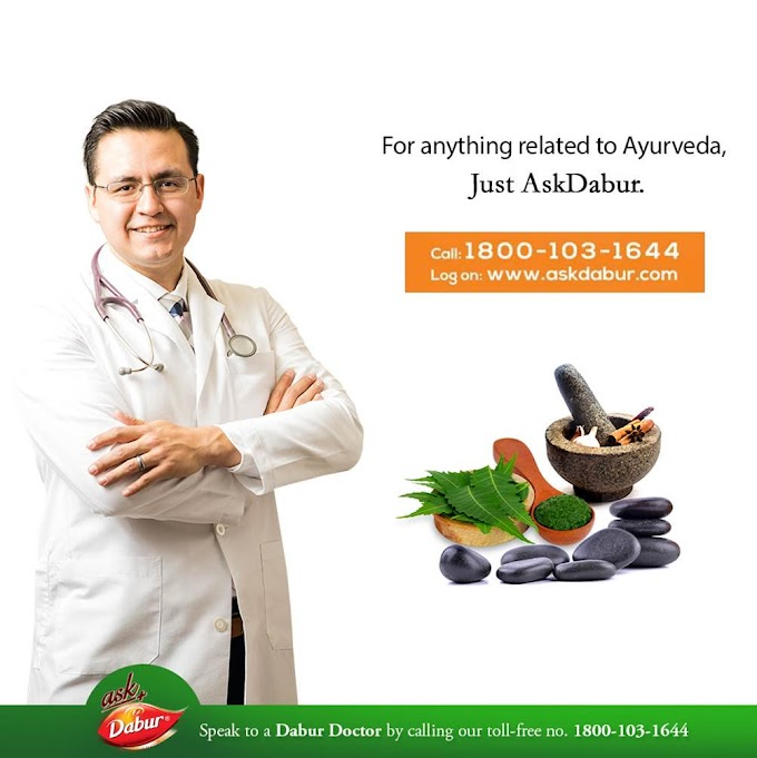 Ask Dabur gives you India's only free doctor consultation service.