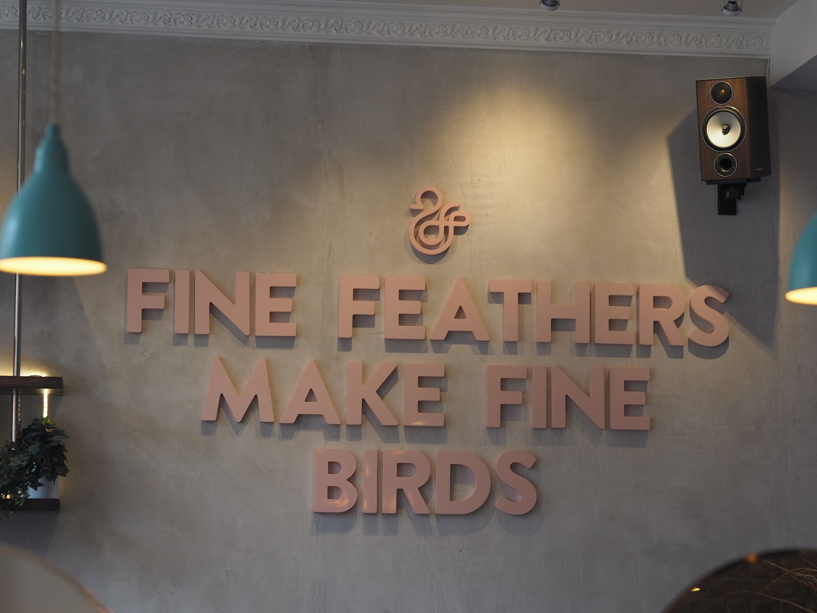 Fine Feathers Make Fine Birds, Duck and Dry Salon, Chelsea