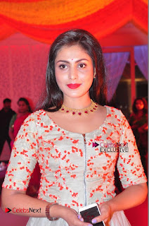 Actress Madhu Shalini Exclusive Stills in Party Dress at Vijay Karan Aashna Wedding  0009.JPG