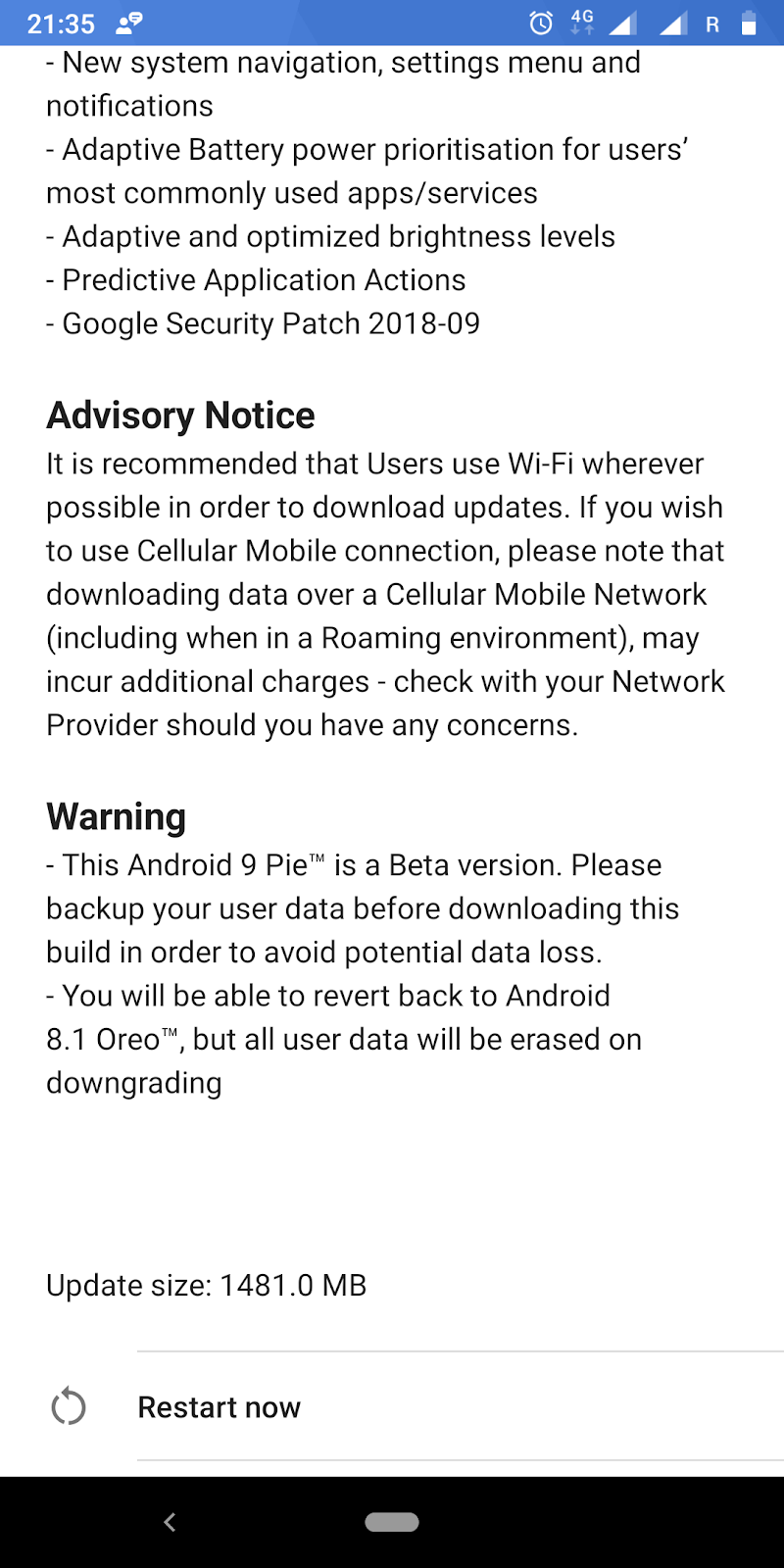 Nokia 7 Plus Receives Android 9 Pie Beta(V3 190) Update With