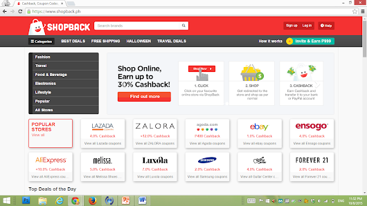 Shopback PH: A ground-breaking way of shopping